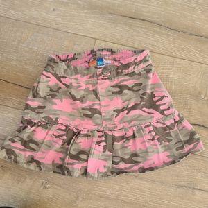 (2/$15) Nick Jr Dora Explorer Pink Camo Skort